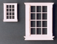 Plastic Georgian 12 Pane Window