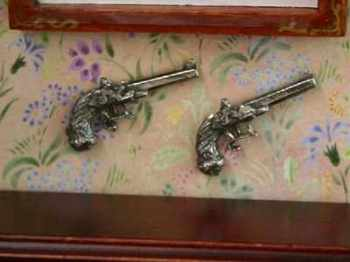 Pair Of Duelling Pistols