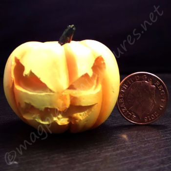 large carved Halloween pumpkin