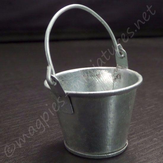 large metal bucket