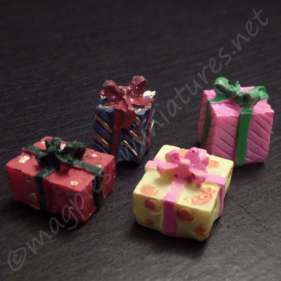 Set of 4 gift boxes