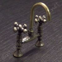 Brass finish Mixer Tap