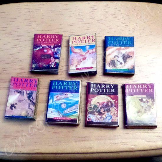 Harry Potter books - Set of 7