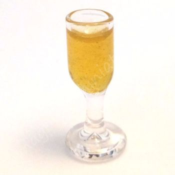 SECONDS - Filled wine glass TO CLEAR