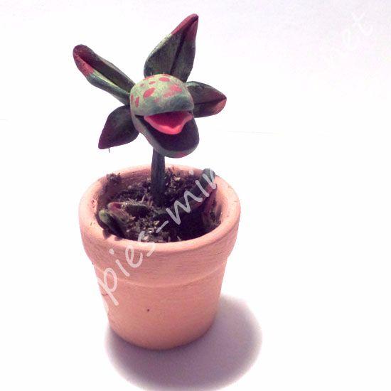 Evil Venus flytrap plant