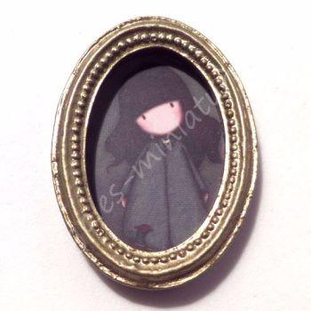 Framed art - Girl