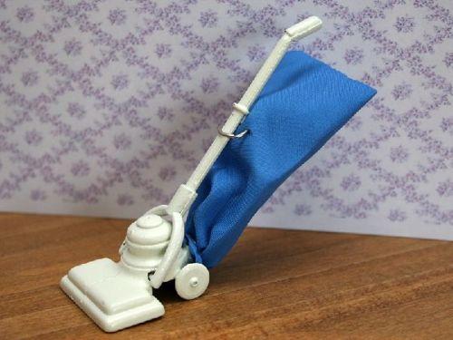 Blue and Cream Vacuum Cleaner