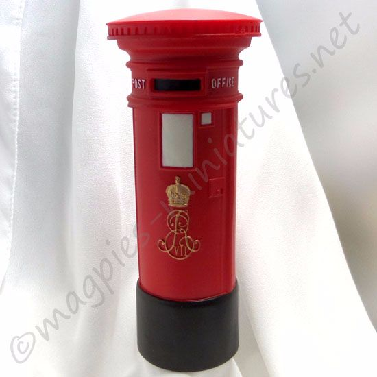 Edwardian (round top) Post Box