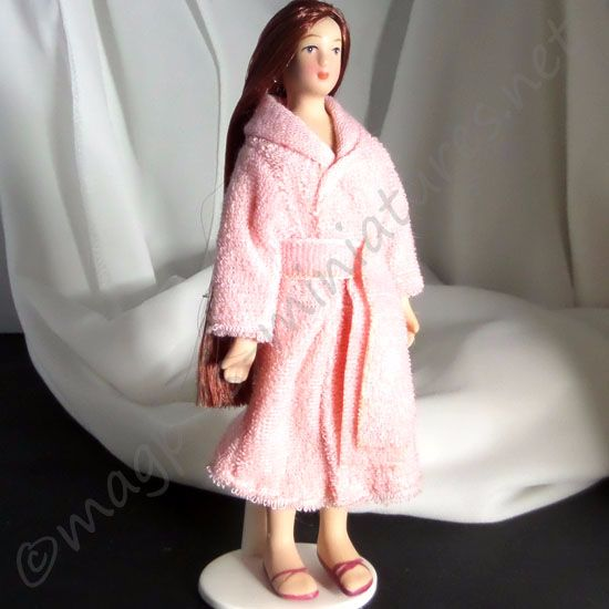 Lady - Woman in bath robe