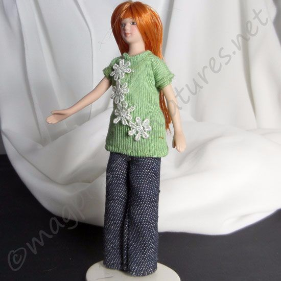 Lady - Woman in green jumper