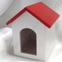 Dog Kennel Red Roof
