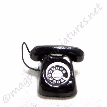Black telephone