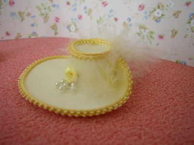 Delicate Lemon Wide Brim Hat