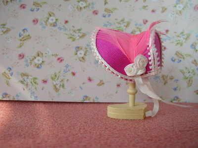 Rose Pink Bonnet