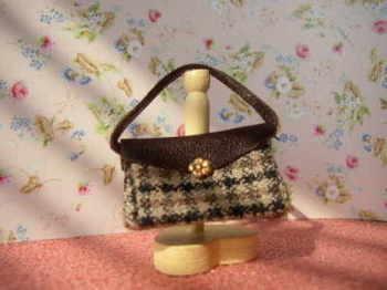Houndstoothe Bag