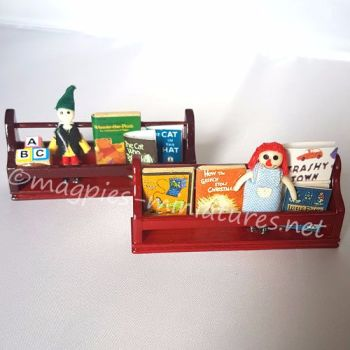 Toy Shelves - set of 2