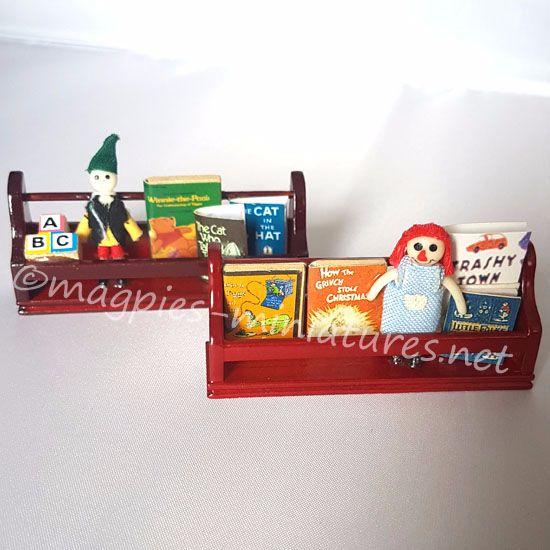 Toy Shelves - set of 2