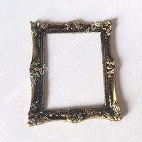 Frame - Small Antique Finish, Solid Brass
