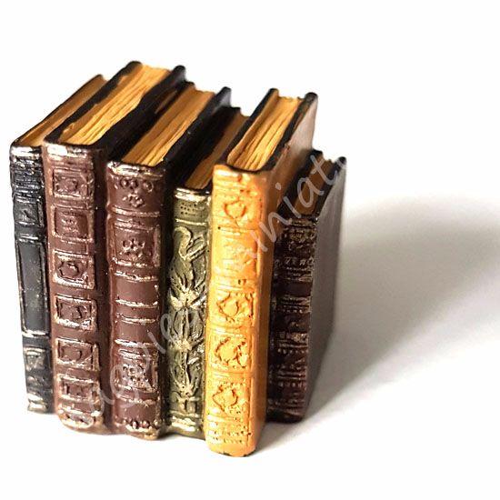 Row of worn books, (short)