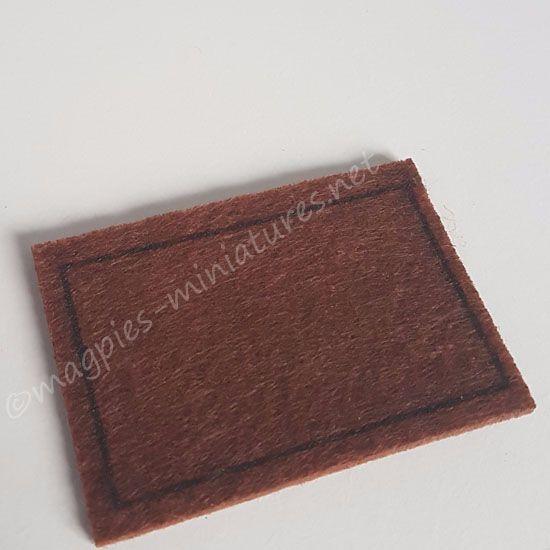Plain Bristle Door Mat