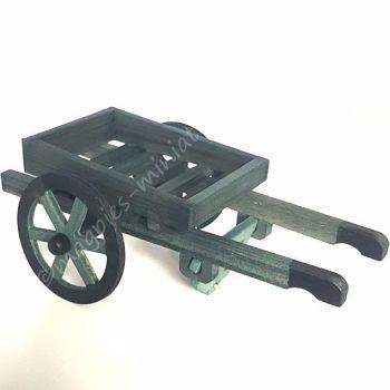 Wooden Hand Barrow Cart