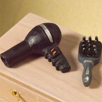Hairbrush and Hair Dryer set