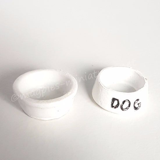 Dog food and water bowl set