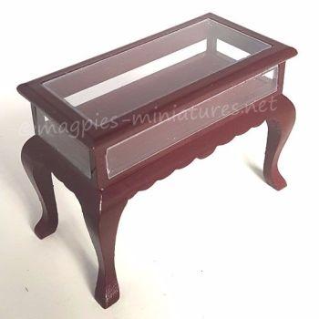 Display table - Mahogany