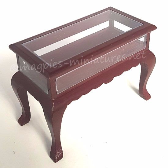 Display table - Mahogany