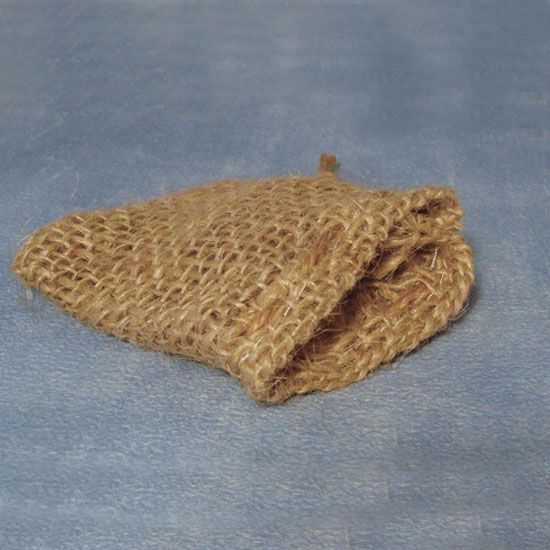9cm jute sacks, pack of 2