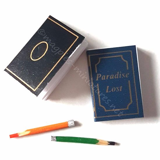 Note book and pencils set