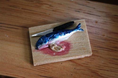 Fish preperation board