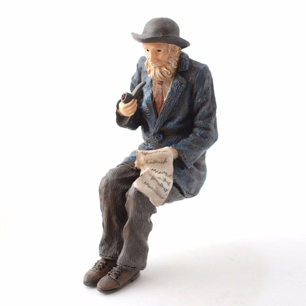 Man - Grandfather Smoking