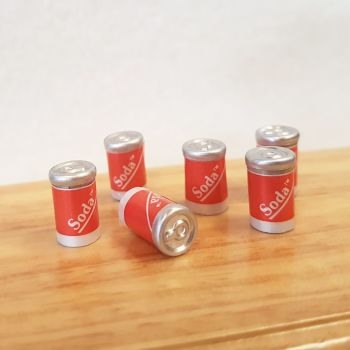 6 Cola Cans