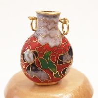 Cloisonne Vase - Red #1