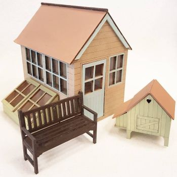 24th Scale Garden Set 1:24
