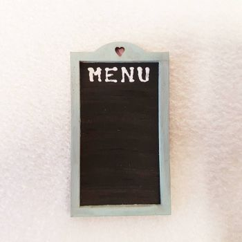 Menu Board-BLUE