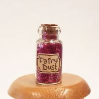 Fairy Dust Jar - Purple
