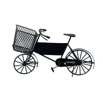 Black Delivery Bike