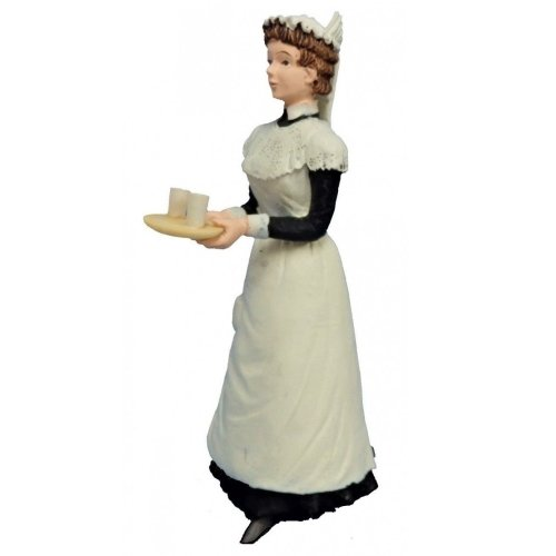 Lady - Maid with tray