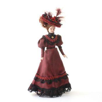 Lady - Victorian - Plum