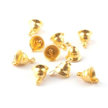 Mini bells 5mm pack of 10