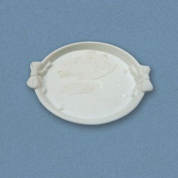White round serving tray