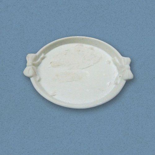 White round serving tray