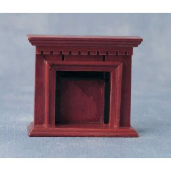 Wooden Fireplace - 1:24 24th Scale