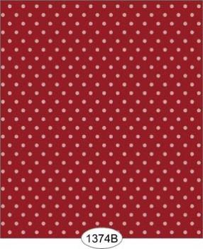 Wallpaper - Sailboat Dot - Red