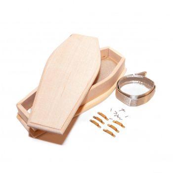Barewood Coffin