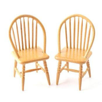 Dining Chairs - 2 Pack spindle back