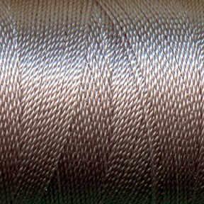Tiny Twisted Cord - Black Grey