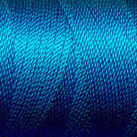 Tiny Twisted Cord - Blue Turquoise